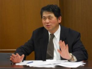 無実を訴える再審請求人吉田信一さん